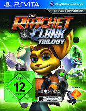 Sony PlayStation Vita psv PSVita juego * Ratchet & Clank Trilogy HD *** nuevo * New