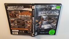 Wreckless: The Yakuza Missions (Sony PlayStation 2, 2002) ps2