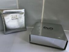 Dolce & Gabbana Jewelry Box and Pouch.-C330