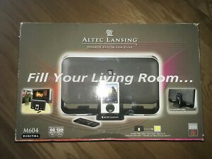 New Altec Lansing Audio System for Zune M604