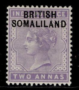 SOMALILAND PROTECTORATE QV SG3, 2a pale violet, LH MINT.