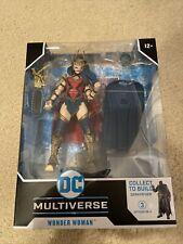 McFarlane DC Multiverse Death Metal Wonder Woman BAF DarkFather Action Figure
