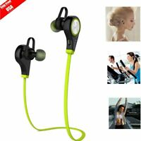 Bluetooth Headphones Wireless Sound Bass Earphones Sport Headset with Bass Mic@