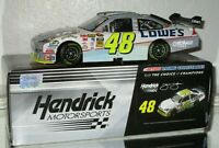 2010 Jimmie Johnson #48 Lowe's AUTOGRAPHED FLASHCOAT SILVER 1/24 car#634/766 WOW