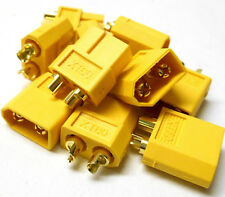 C0105 RC Compatible XT60 XT-60 Yellow Connector Male Female x 5 - v1 Best Set