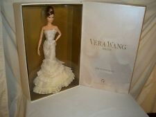 Vera Wang Bride Barbie Doll The Romanticist Gold Label NRFB Tissued