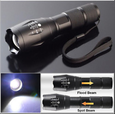 990000LM 5Modes Torch Powerful LED Flashlight Zoom Focus Police AAA Light Lamp