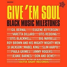 Give 'em Soul Black Music Milestones Various Artists LP 14 Track - an Authentic