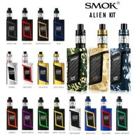 SMOK ALIEN KIT 220 MOD VAPE TC TFV8 BABY TANK V8 COIL 100% AUTHENTIC E-CIGARETTE