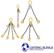 More details for economy lifting chain sling - 7mm 10mm 13mm  - 1 2 3 4 leg shorteners