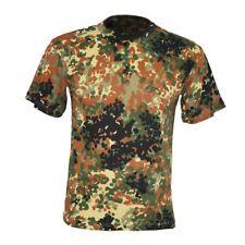 TSHIRT t shirt esercito Militare italiano tedesco uomo mimetica maglietta