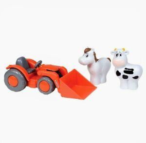 NIB Kubota My Lil' Orange Tractor & Farm Animals