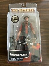 """NECA Team Fortress 2 RED THE SNIPER 7"""" Action Figure 2018 RARE"""