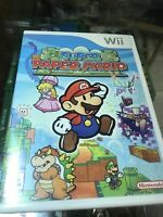 Super Paper Mario (Nintendo Wii, 2007) No Manual