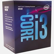 Intel - Client CPU Core I3-8100 3.60ghz Skt1151 6mb Cache Boxed in 135