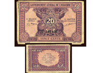 INDOCHINE  20 cents  1942   ( 245430 )