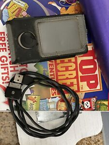 Zune Digital 30gb Music Video Player Bundle Case & Cables Tested & Working