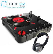 Numark PT01 Scratch Portable Battery-Operated DJ Vinyl Turntable FREE HEADPHONES