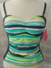 Free Country Tankini (top only) Sz S padded underwire #5.5-2111916002