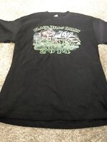 Hot Leathers Men's 2014 Sturgis Black Hills Rally T-shirt  Sz L Graphic Bike