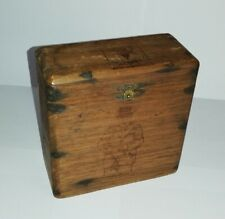More details for sir winston churchill vintage cigar box by p. john and co.