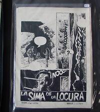 Originalzeichnung Jose Luis Ferrer 7 Seiten zus.