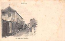 France Juziers La Rue aux Boeufs, Chocolat Menier 1903