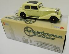 Lansdowne LDM61A - 1937 Jensen 3.5 Litre S Type - Cream         1:43 White Metal