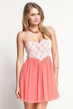 Cotton Blend Skater Short/Mini Sleeveless Dresses for Women