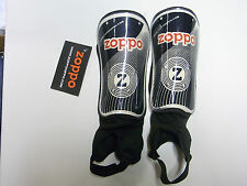 Zoppo Lightweight Metalic Hockey Protection Shinguards with ankle socks [XS]