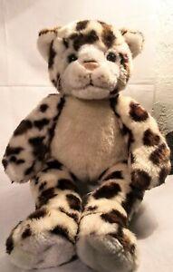 "Build a Bear 16"" WWF World Wildlife Fund 2007 Cheetah SnowLeopard Spotted"