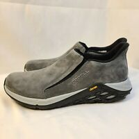 New Merrell Jungle MOC 2.0 Granite Vibram Slip-on Shoes J94523 Men's Size 9.5