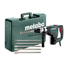 Metabo SDS Max Kombihammer KH 5-40 Set mit Meißelsatz im Koffer | 1.100 Watt