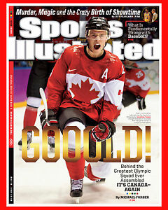 Jonathan Toews - 2014 Canada Gold - Sports Illustrated Cover, 8x10 Color Photo