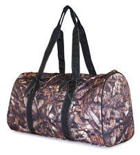 Camo Large Quilted Duffle Bag Duffel Travel Luggage Womens Girls Gym Teens