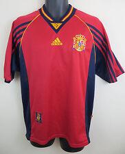 ADIDAS Maglia Calcio Spagna 1998 ESPANA camiseta SOCCER JERSEY CAMISA Medium M