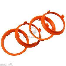 4x Centering Ring 2 3/8-2 9/32in Enzo AEZ Dotz Decent for Lancia Fiat Alfa