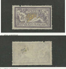 France, Postage Stamp, #126 Faults No Gum Mint, 1900