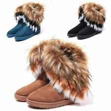 Damen Stiefel Schneestiefel Stiefeletten Winterstiefel Winterschuhe Warm Boots