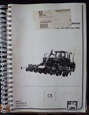 Amazone Einzelkornsägerät ED301 - ED601 ET-Liste