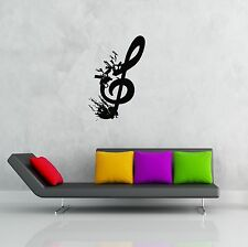 Wall Stickers Vinyl Decal Music Notes for Bedroom z1231