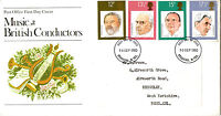 10 SEPTEMBER 1980 FAMOUS CONDUCTORS POST OFFICE FIRST DAY COVER BRADFORD FDI
