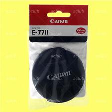 Genuine Canon E-77ii Front Lens Cap 77mm