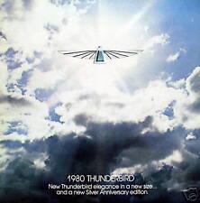 1980 Ford Thunderbird new vehicle brochure - 2nd print