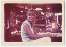 Pretty GIRL big Rock RING on Finger n JEWELRY STORE  modern Vintage  PHOTO