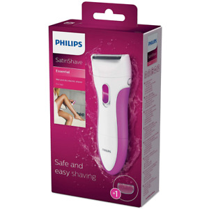 Philips Rasierer Satin Ladyshave Wet & Dry HP6341/00 kabelloser Damenrasierer