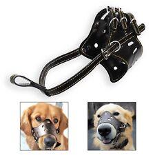 Seguridad del perro BOZAL BALA regulable Morder ladridos Mascar cesto pequeño