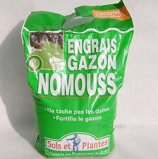 Engrais gazon anti-mousse Nomouss 5 kg pour 200m², CP jardin
