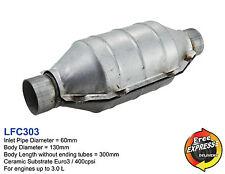 Ceramic Universal Catalytic Converter Round CAT 60mm 400cpsi Euro3 LFC303