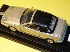 UNIQUE volvo 480 cabriolet 1/43 en coffret idéal pour collectionneur idée cadeau